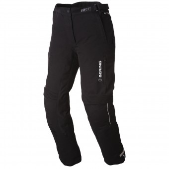 Motorcycle Trousers Bering Lady Safari Black White Pant