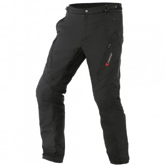 Motorcycle Trousers Dainese Tempest D-Dry Black Pant
