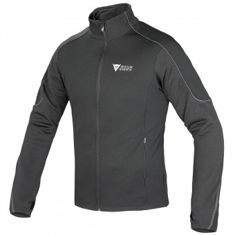 Motorcycle Jackets Dainese D-Mantle Fleece Black Anthracite
