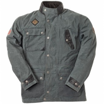 Motorcycle Jackets Ride & Sons Escape Waxed Anthracite