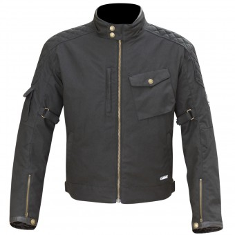 Motorcycle Jackets Merlin Hamstall Wax Cotton Black