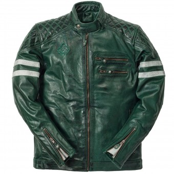Motorcycle Jackets Ride & Sons Magnificient Skin Forrest Green