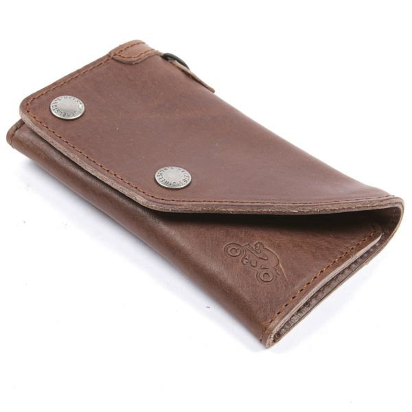 Novelty Items Helstons Leather Brown Wallet
