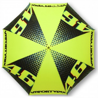 Novelty Items VR 46 Umbrella Big VR46 Yellow Black