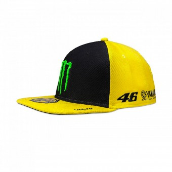 Motorcycle Caps VR 46 Cap Adj Monster Sponsor Fluo Yellow VR46