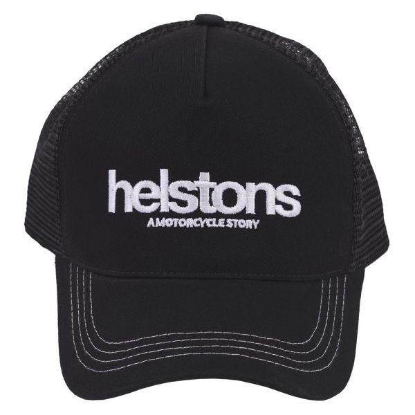 Motorcycle Caps Helstons Cap Trucker Black