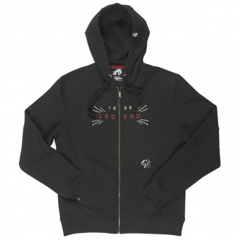 Motorcycle Hoodie Furygan Veste Legend Black