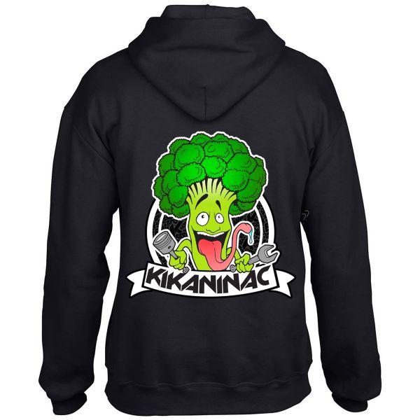 Motorcycle Hoodie Kikaninac Sweat Broco Black