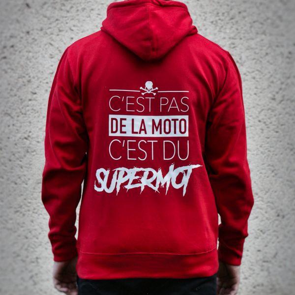 Kikaninac Sweat Hoodie Supermot Red