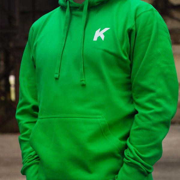 Kikaninac Sweat Hoodie Supermot Green