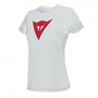 Motorcycle T-Shirts Dainese Speed Demon Lady White Red