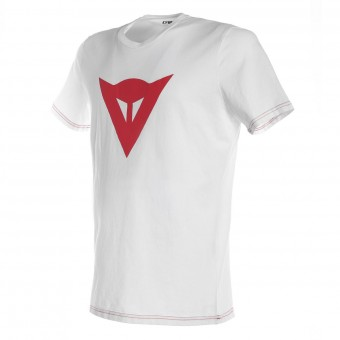 Motorcycle T-Shirts Dainese Speed Demon White Red