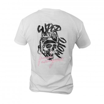 Motorcycle T-Shirts iCasque Super Moto White