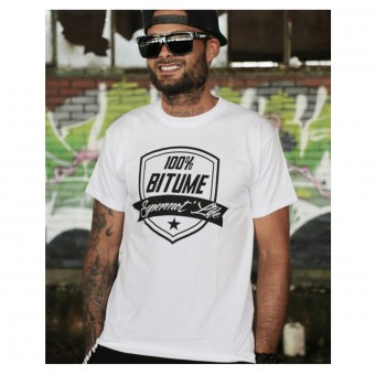 Motorcycle T-Shirts 100% Bitume Supermot Life