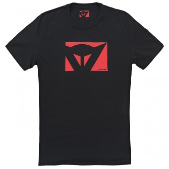 Motorcycle T-Shirts Dainese Color New Black