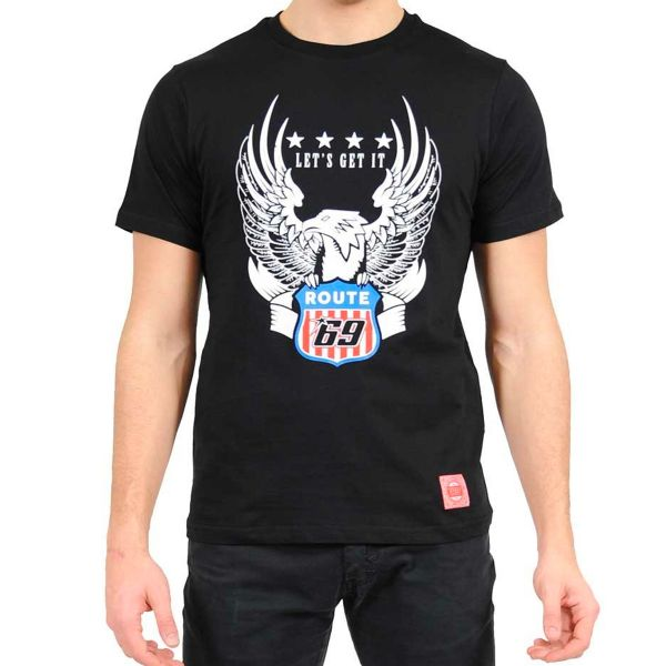 Motorcycle T-Shirts Nicky Hayden Eagle Route Hayden 69