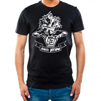 Motorcycle T-Shirts 100% Bitume Niglo Black