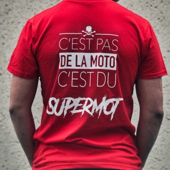 Motorcycle T-Shirts Kikaninac T-Shirt Supermot Red