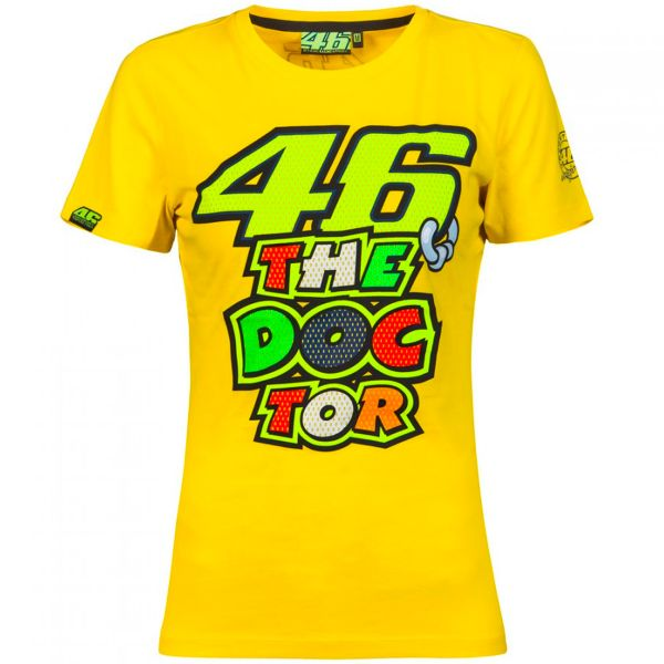Motorcycle T-Shirts VR 46 T-Shirt Woman VR46