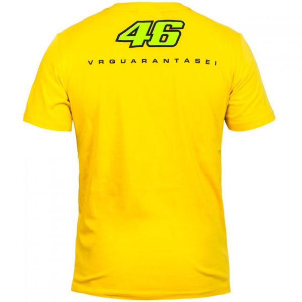VR 46 T-Shirt Yellow Face VR46