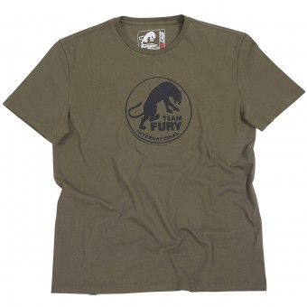 Motorcycle T-Shirts Furygan Team Fury MC Khaki