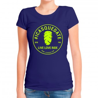 Motorcycle T-Shirts iCasque Tee-Shirt Lady icasquedate3