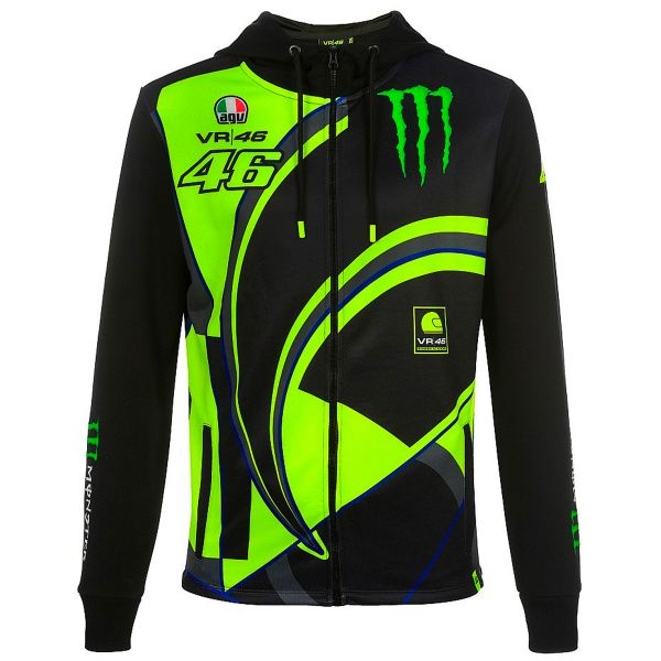 Motorcycle Jumpers VR 46 Hoodie Replica Monster Dual